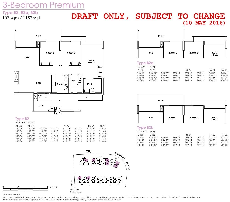 Treasure Crest Floor Plans 3 Bedroom Premium